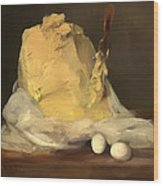 Mound Of Butter Wood Print