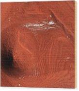 Mound On Mars Wood Print