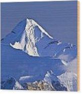 Mount Aylmer, Viewed From Sulphur Wood Print