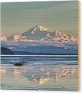 Mount Baker North Cascades National Park Wood Print