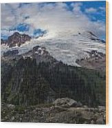 Mount Baker View Wood Print