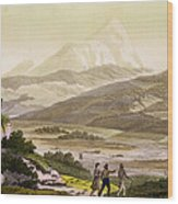 Mount Cayambe, Ecuador, From Le Costume Wood Print