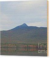 Mount Chocorua Wood Print