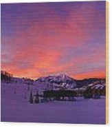 Mount Crested Butte 2 Wood Print