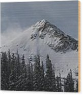 Mount Crested Butte 3 Wood Print