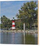 Mount Dora Lighthouse Wood Print