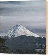 Mount Fuji Japan Wood Print