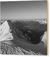 Mount Garibaldi Summit  Wood Print