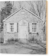 Mount Gilead Ame Church Wood Print