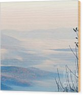Mount Greylock At Sunrise Wood Print