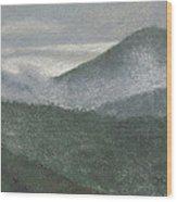 Mount Judea Wood Print by Garry McMichael