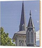 Mount Kisco Wood Print