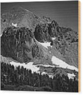 Mount Lassen Wood Print