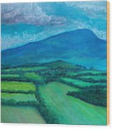 Mount Leinster Ireland Wood Print