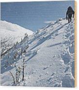 Mount Madison - White Mountains New Hampshire Usa Wood Print