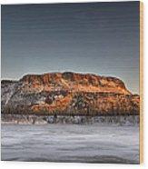 Mount Mckay Wood Print