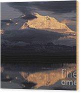 Mount Mckinley Wood Print