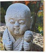 Mount Misen Buddha Wood Print