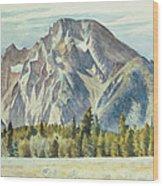 Mount Moran Painting By Edward Hopper