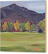 Mount Osceola New Hampshire Wood Print