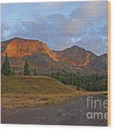 Mount Owen Sunrise Wood Print