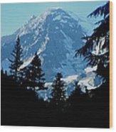 Mount Rainier 14 Wood Print