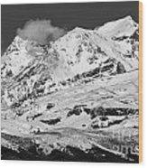 Mount Ruapehu Wood Print