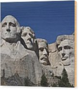 Mount Rushmore Wood Print by Frank Romeo