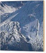 Mount Saint Helens Cauldera  Wood Print