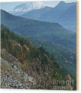 Mount Saint Helens Majesty Wood Print
