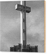 Mount Soledad Cross 2 Wood Print