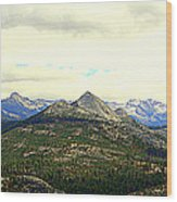 Mount Starr King Wood Print