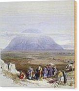 Mount Tabor Wood Print