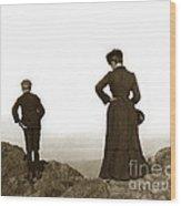Mount Tamalpais Marin County California Circa 1902 Wood Print