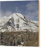Mount Timpanogos Panorama Wood Print