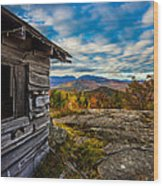 Mount Tyrol Wood Print