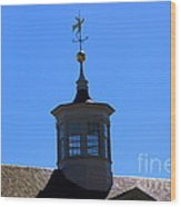 Mount Vernon Cupola Wood Print