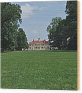 Mount Vernon In May Wood Print