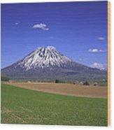 Mount Yotei Volcano Hokkaido Wood Print