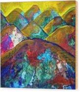 Mountain 120927-3 Wood Print