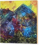 Mountain 120928-2 Wood Print