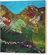 Mountain 130125-1 Wood Print