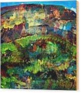 Mountain 130125-4 Wood Print