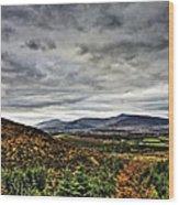 Mountain At The Windy Gap Wood Print by Tony Reddington
