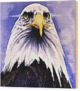 Mountain Bald Eagle Wood Print