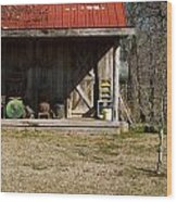 Mountain Cabin In Tennessee 3 Wood Print