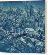 Mountain Creek Path-sundance Utah V2 Wood Print