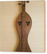 Mountain Dulcimer 2 Wood Print