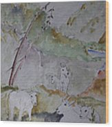 Mountain Goats In Spearfish Canyon Wood Print