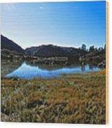 Mountain Marshes 3 Wood Print